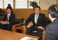 「ヴァンラーレ八戸FC」 青森知事に来季のJ3昇格を報告