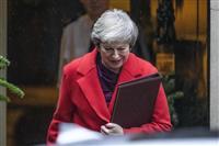 英議会、EU離脱案を審議 メイ首相「運命の1週間」
