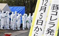 岐阜で3例目豚コレラ 県畜産研究所飼育が感染