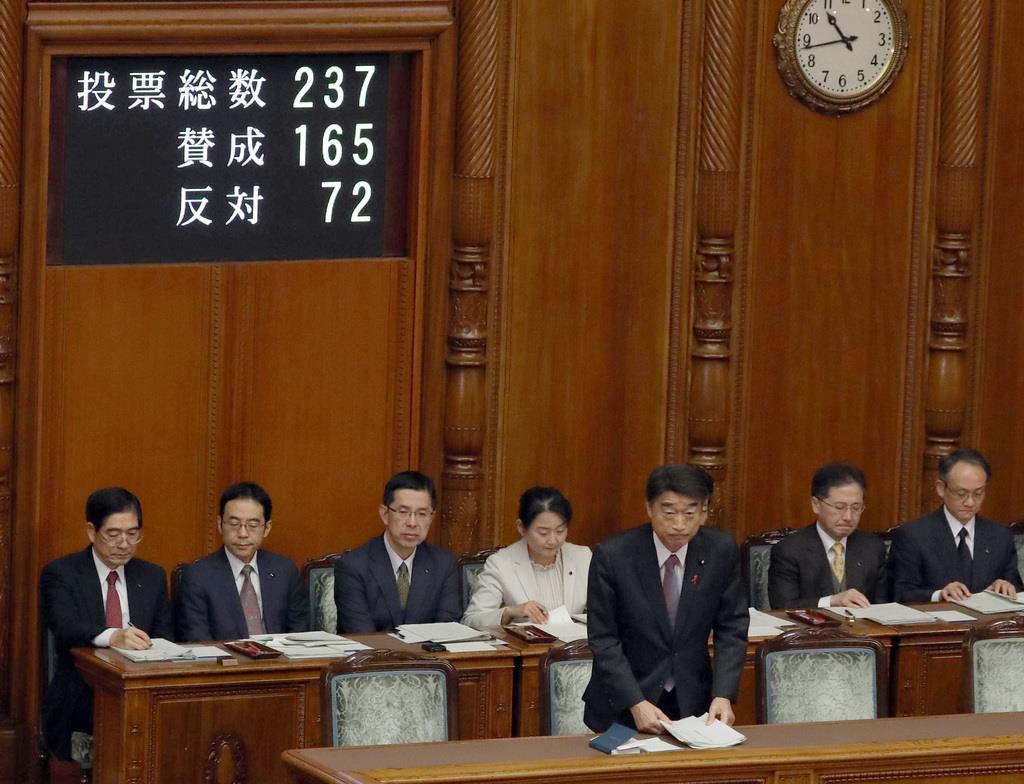 水道法改正案 参院本会議で可決 ...