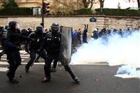 デモで延期 8日予定のサッカーのフランス1部2試合