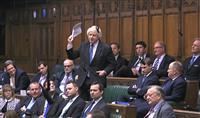 EU離脱案承認、さらに不透明…英下院、主要採決で相次ぎ政権敗北