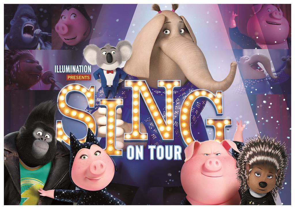 USJに「シング」登場 来春、動物たちのミュージカル
