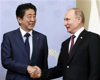 安倍首相、露大統領に来夏訪日提案 萩生田氏明かす