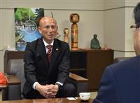 「来季は悔しさをエネルギーに」 J3福島の田坂監督、12位を市長に報告