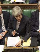 英離脱「法的助言」で反発 窮地のメイ首相、反対派説得に奔走