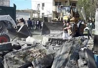 イランで自爆テロ3人死亡 南東部の警察施設近く
