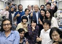 ノーベル賞授賞式出席の本庶佑さん 研究所は多国籍集団「重要なのは多様性と国際的な環境」