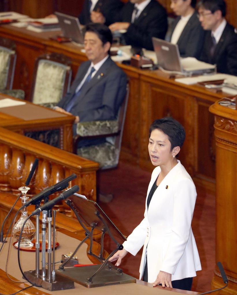 首相問責案の参院本会議が開会 -...