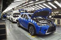 レクサスSUV新型車、宮若の工場で量産開始