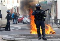 仏週末デモに厳戒体制 ルーブル美術館など休館
