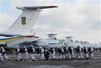 米軍がウクライナで監視飛行 クリミアでの動き牽制か