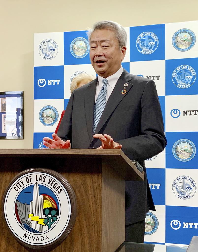 NTT社長、政府方針注視 ファーウェイ幹部拘束で