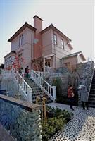 「日暮別邸」を新居浜に復元 煙害克服の歴史伝える