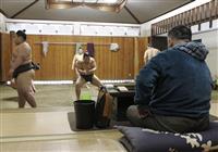 元貴ノ岩引退後、初の稽古 師匠は断髪式容認へ