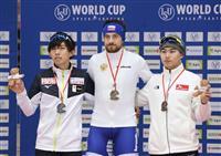 一戸誠太郎が2位で初の表彰台 スピードW杯第3戦