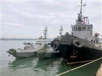 ウクライナ艦船は重装備 航行通告せずとロシア