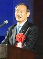 【山梨知事選】「新しいかじ取り役に」 菅長官、長崎氏を応援