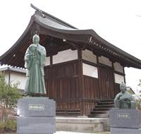 長野・象山神社に龍馬らの銅像