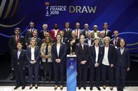 日本はアルゼンチンと初戦 2019年サッカー女子W杯抽選