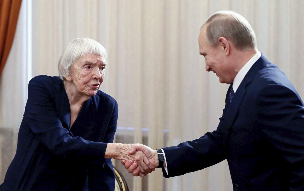アレクセーエワさん死去 ロシアの著名人権活動家