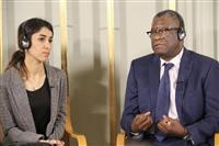 「邪悪との闘いの始まり」 ノーベル平和賞のコンゴ医師ら会見