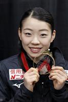 紀平梨花「笑顔で終われた」 来年は4回転挑戦 フィギュアのGPファイナルで初出場V