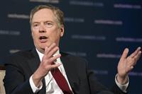 米通商代表、対中交渉「期限は90日」 関税上げ圧力