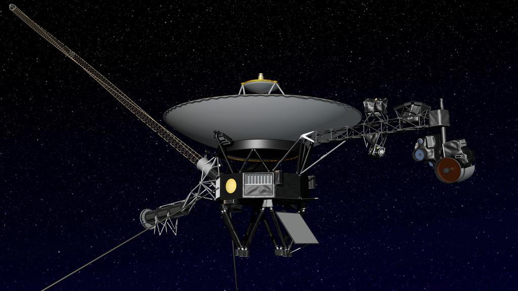 米探査機が太陽系外に ボイジャ...