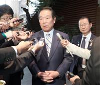 日韓議連の額賀福志郎会長、文大統領と会談へ