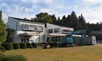 旧公民館がウイスキーの蒸留所に 茨城・石岡市
