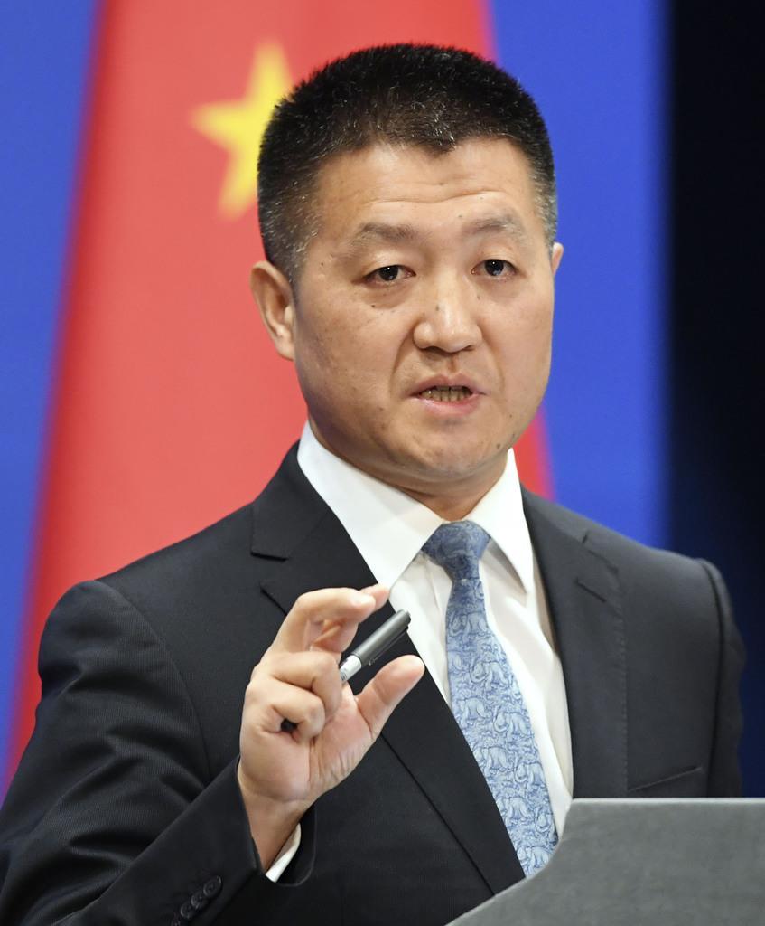 中国外務省、日本政府の2社排除方針に不快感、「差別的な対応」