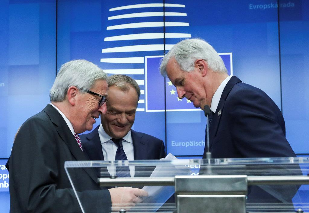 EU大統領「議論の用意」 英離脱案、再交渉は拒否