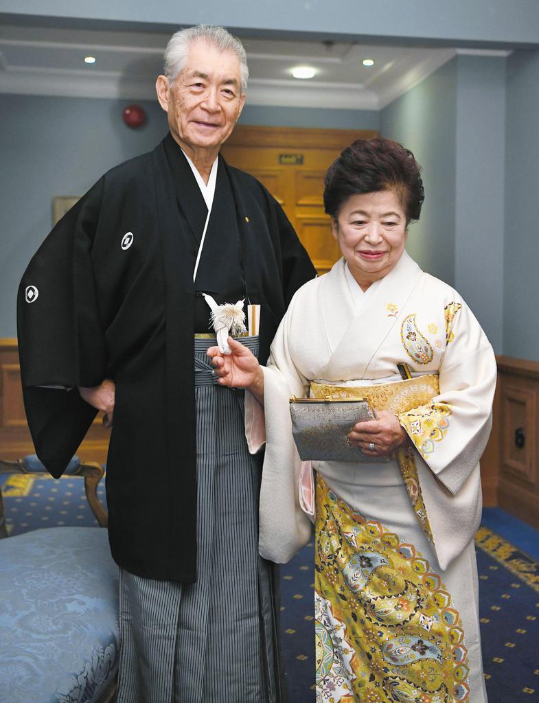 【ノーベル賞授賞式】本庶さん、和服姿で授賞式へ - 産経ニュース