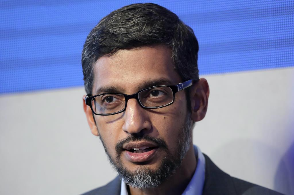 米グーグル、中国再参入「現時点で計画ない」 ピチャイCEO証…