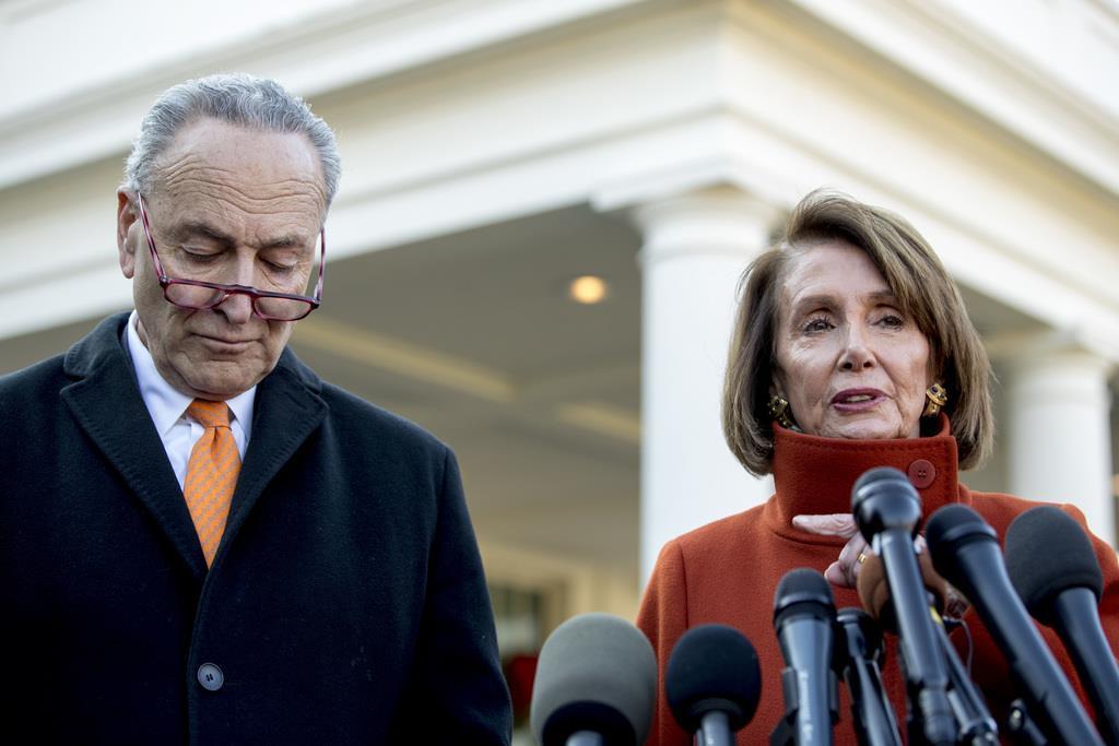 トランプ氏が民主党指導部と激しく口論 「壁」建設めぐり