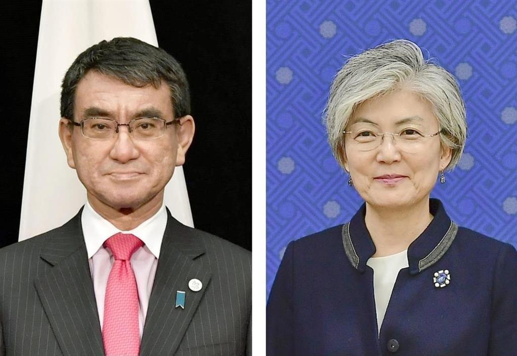 日韓外相が電話会談 徴用工判決で意見交換