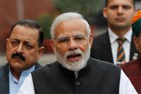 インド5州議会選で与党全敗 モディ政権への逆風鮮明に
