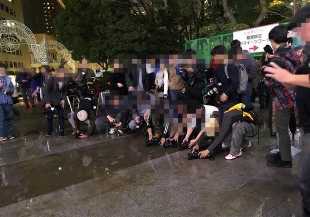 「写真映え」求め迷惑行為 神戸ルミナリエで水まき撮影