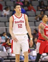 渡辺雄太は練習再開へ NBA下部リーグ戦で脳振とう