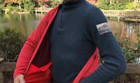 評判通りの暖かさ!ひだまりを着て冬の街を散策
