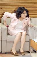 片山さつき氏 今年の漢字は「堪」週刊誌報道、野党追及に追われ