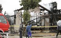 富山で住宅全焼、4人連絡取れず 焼け跡から1遺体