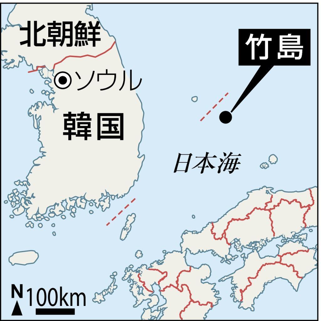 自民、竹島の韓国軍訓練に非難決議「強烈な怒り」