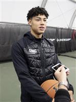 16歳田中力「レベルが高い」 米留学中のバスケ日本代表候補