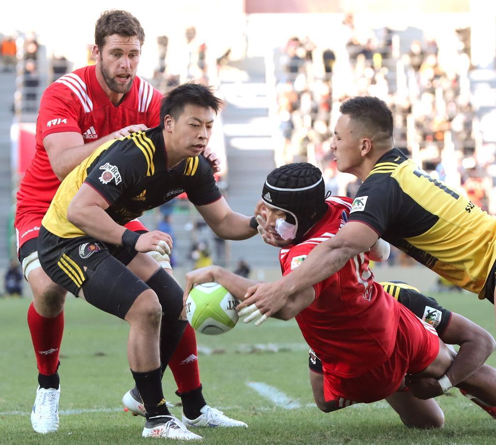 NZ流超攻撃ラグビーで進化 神鋼、多彩なパス攻撃