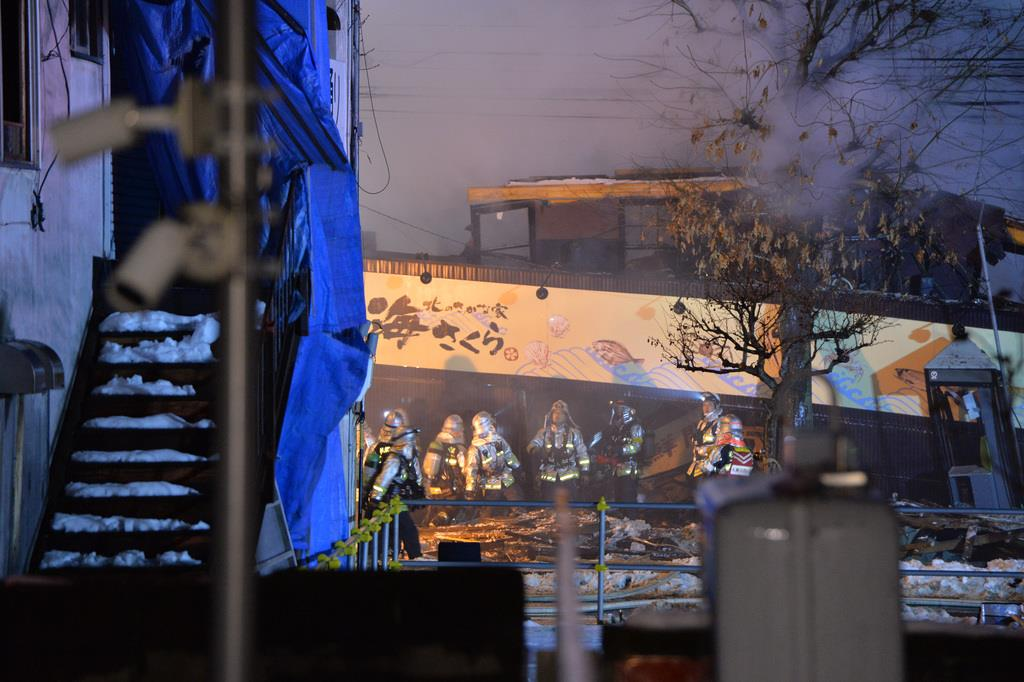 札幌で飲食店爆発、負傷二十数人 - 産経ニュース