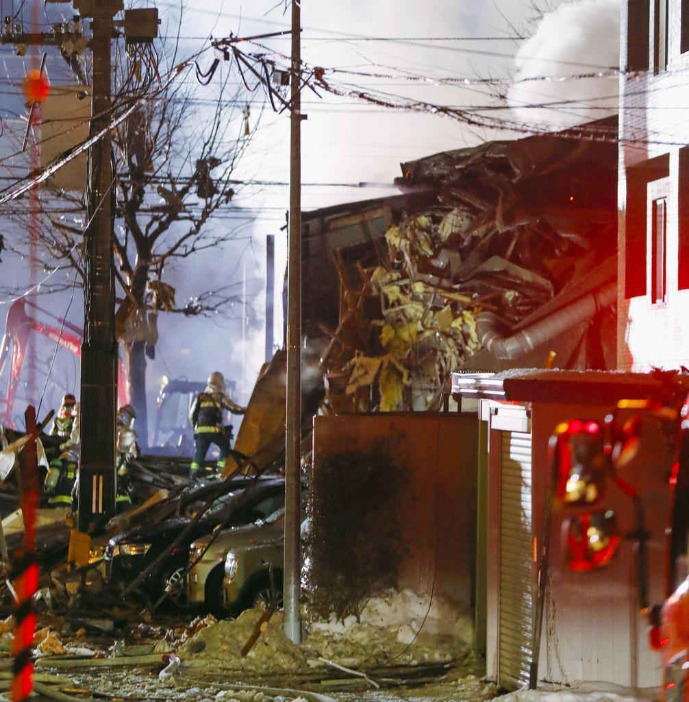 札幌の居酒屋爆発 41人けが、1人重傷 - 産経ニュース