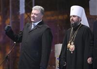 ウクライナ正教会、新組織設立を宣言 露は猛反発