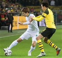大迫、後半途中出場 サッカー、ドイツ1部